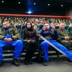 Бойцы АТО в Правда-Кино