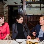 Наталия Самарина, Татьяна Корсунская, Ютта-Мария Бёнерт