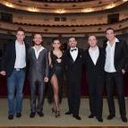 Нери Пилиу и Янина Киньонес и «Solo Tango Orquesta»