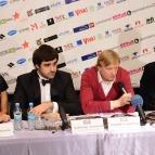 Любомир Левицкий, пресс-конференция