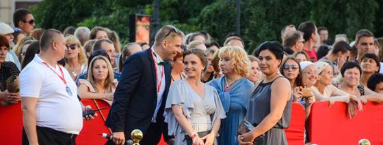 Открытие 7-го Одесского Кинофестиваля, за кадром